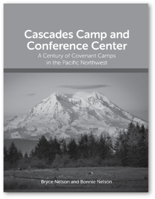 Book Cover with Mount Rainier